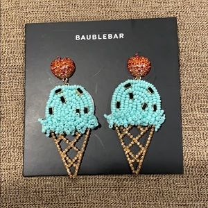 🌪 Baublebar earrings 🍦🍒